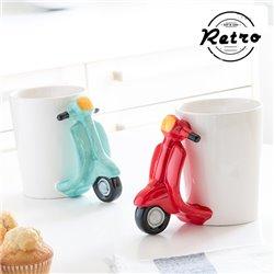 Retro Scooter Tasse