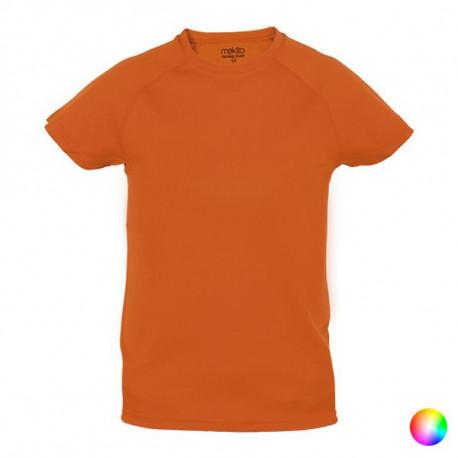Camiseta de Manga Corta Infantil 144185 Rojo 4-5 Años