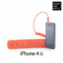 Écouteur Antiradiation pour iPhone Blanc