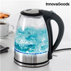 InnovaGoods LED Electric Kettle 2200W