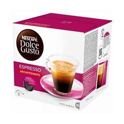 Coffee Capsules Nescafé Dolce Gusto 60658 Espresso Decaffeinato (16 uds)