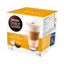 Coffee Capsules Nescafé Dolce Gusto 98386 Latte Macchiato (16 uds)