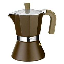 Monix Italienische Kaffeemaschine M670009 (9 kopper) Aluminium