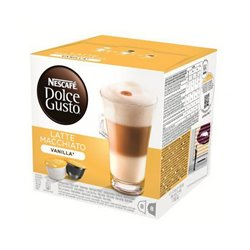 Cápsulas de café Nescafé Dolce Gusto 70676 Latte Macchiato (16 uds) Baunilha