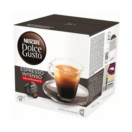 Cápsulas de café Nescafé Dolce Gusto 60924 Espresso Intenso Decaffeinato (16 uds)