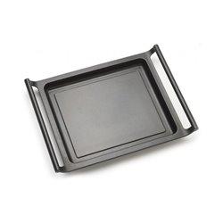 Glatte Grill-Palcha BRA A271535 35 cm Schwarz
