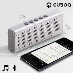 Altavoz Bluetooth Waterproof CuboQ Metal