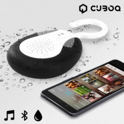 CuboQ Shower Waterproof Bluetooth Speaker