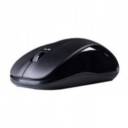 Hiditec Silent Black ratón RF inalámbrico Óptico Ambidextro MOU010000