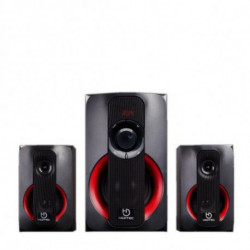Hiditec H400 Lautsprecherset 2.1 Kanäle 80 W SPK010000