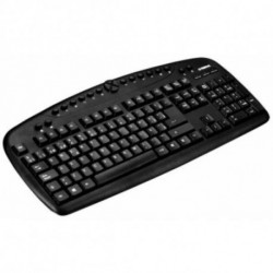 B-Move Tastatur mit Maus BM-TC01 1600 DPI Schwarz
