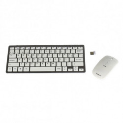 Tacens Levis Combo V2 keyboard RF Wireless Metallic,White 6LEVISCOMBOV2