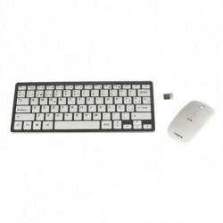 Tacens Levis Combo V2 Tastatur RF Wireless Metallisch, Weiß 6LEVISCOMBOV2