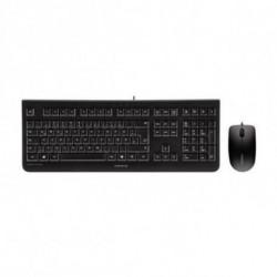 CHERRY DC 2000 Tastatur USB Spanisch Schwarz JD-0800ES-2