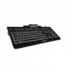CHERRY KC 1000 SC keyboard USB QWERTY Spanish Black JK-A0100ES-2