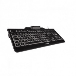 CHERRY KC 1000 SC teclado USB QWERTY Espanhol Preto JK-A0100ES-2
