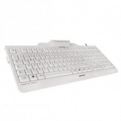 CHERRY KC 1000 SC Tastatur USB QWERTY Spanisch Grau JK-A0100ES-0