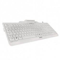 CHERRY KC 1000 SC teclado USB QWERTY Espanhol Cinzento JK-A0100ES-0