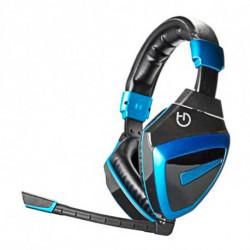 Hiditec HDT1 Binaural Diadema Negro, Azul AU10HDT001