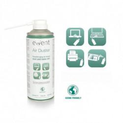 Ewent EW5601 Reinigungskit Luftdruckreiniger für Gerätereinigung Schwer zu erreichende Stellen 400 ml