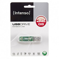 INTENSO Clé USB 3502480 32 GB Transparent