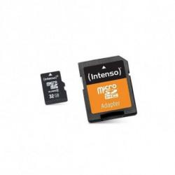 INTENSO Mikro SD Speicherkarte mit Adapter 3413480 32 GB Klasse 10