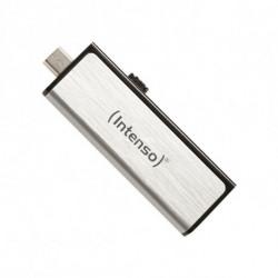 INTENSO USB und Mikro USB Stick 3523480 32 GB Silber