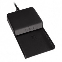 CHERRY TC 1100 smart card reader Indoor Black USB 2.0 JT-0100WB-2