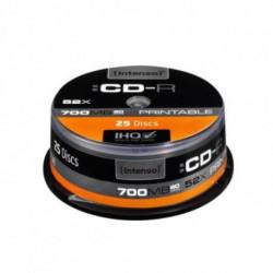 INTENSO Printable CD-R 1801124 52x 700 MB 25 pcs