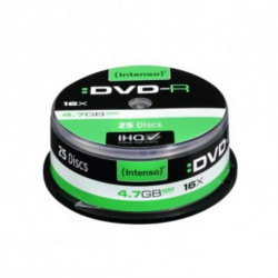 INTENSO DVD-R 4101154 16x 4.7 GB 25 pcs