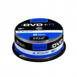 INTENSO DVD+R 4111154 16x 4.7 GB 25 pcs