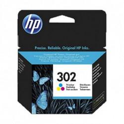 HP 302 Original Cyan, Magenta, Jaune 1 pièce(s) F6U65AE