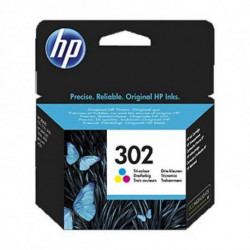 HP 302 Original Cyan,Magenta,Yellow 1 pc(s) F6U65AE