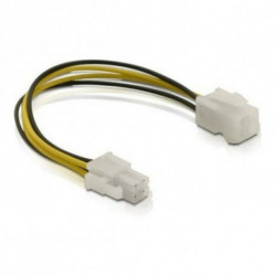 DELOCK Power Cord 82428 4 pin