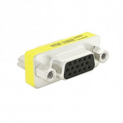 NANOCABLE D-Sub HDB15 Female VGA Adapter 10.16.0001
