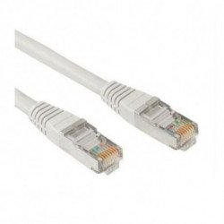 NANOCABLE CAT 6 UTP Cable 10.20.0400 0,5 m Grey