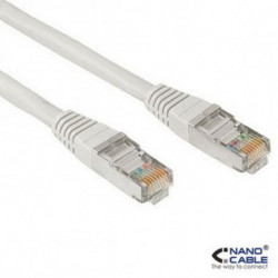 NANOCABLE CAT 6 UTP Cable 10.20.1305 5 m Grey
