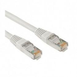 NANOCABLE Câble Catégorie 6 UTP 10.20.0401 1 m Gris