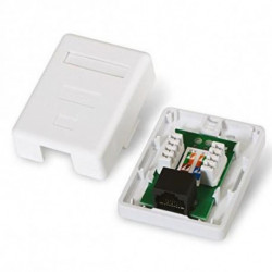 NANOCABLE Network Connection Box 10.21.1501 UTP RJ45 6 White