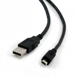 iggual 1.8m USB 2.0 cabo USB 1,8 m USB A Mini-USB B Preto PSICCP-USB2-AM5P-6