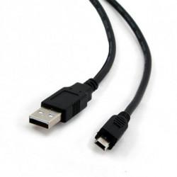 iggual 1.8m USB 2.0 USB Kabel 1,8 m USB A Mini-USB B Schwarz PSICCP-USB2-AM5P-6