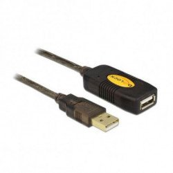 DELOCK Cable Alargador 82308 USB 2.0 5 m