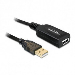 DELOCK Cable Alargador 82689 USB 2.0 15 m