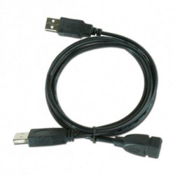iggual IGG312049 câble USB 0,9 m 2.0 USB A 2 x USB A Noir