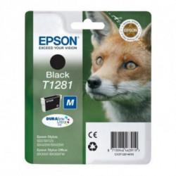 Epson Fox Singlepack Black T1281 DURABrite Ultra Ink C13T12814011