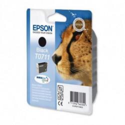 Epson Cheetah Singlepack Black T0711 DURABrite Ultra Ink C13T07114011