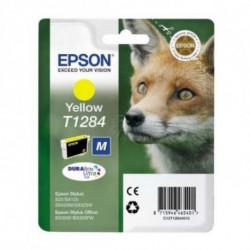 Epson Fox Singlepack Yellow T1284 DURABrite Ultra Ink C13T12844011