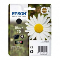 Epson Daisy Singlepack Black 18 Claria Home Ink C13T18014010