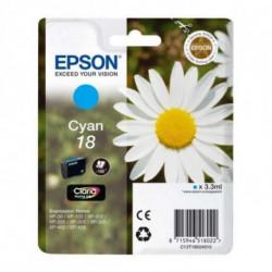 Epson Daisy Singlepack Cyan 18 Claria Home Ink C13T18024010
