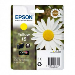 Epson Daisy Singlepack Yellow 18 Claria Home Ink C13T18044010